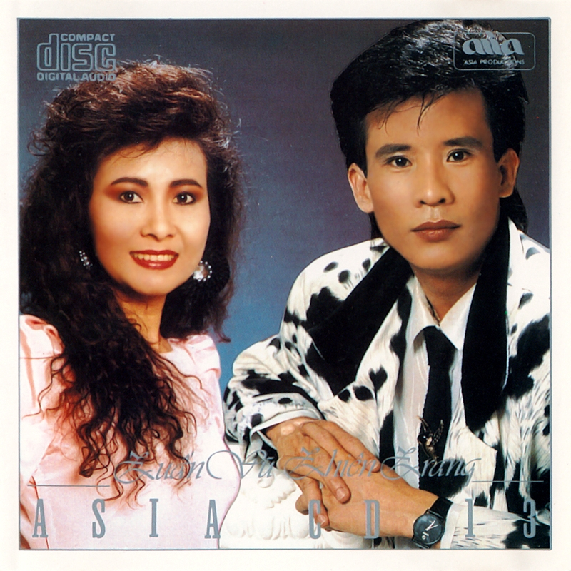 AsiaCD013 - Tuấn Vũ, Thiên Trang (NRG) + bìa scan mới