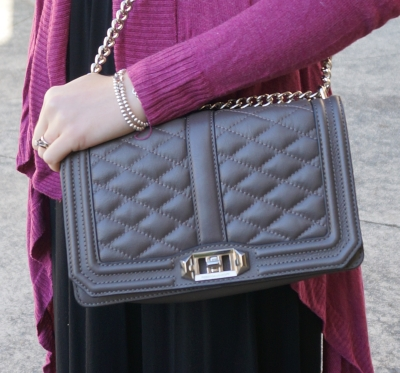 Away From Blue Blog: Rebecca Minkoff Grey Love Bag