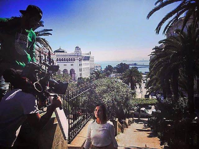 """هذا ما تفعله الممثلة """"صفاء حبيركو"""" بطلة مسلسل """"وعدي"""" في الجزائر!"""