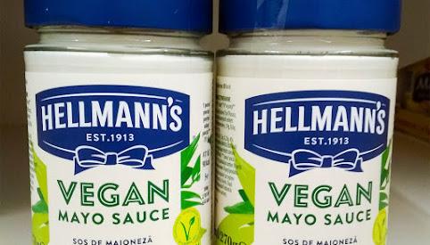 Majonez wegański, Hellman's