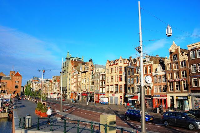 Amsterdam centrum miasta