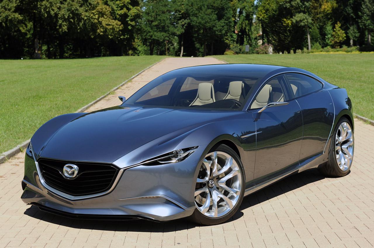 Sport Car Garage Mazda Shinari Concept