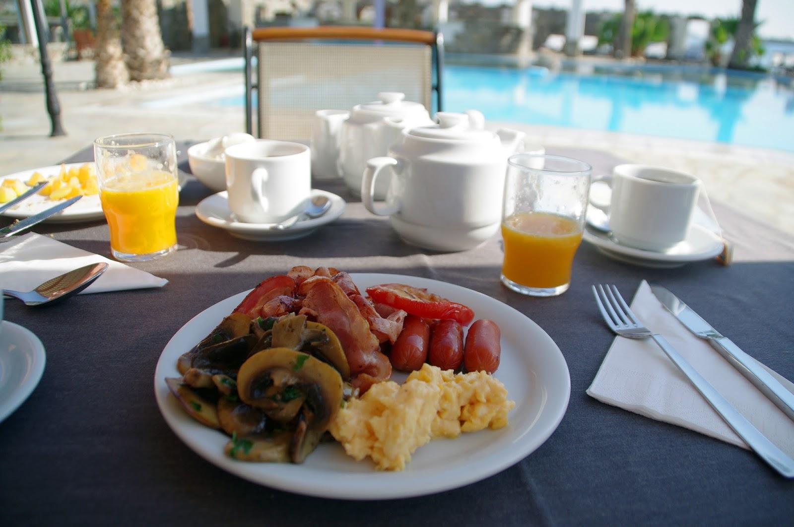 Astir of Paros Cooked Breakfast