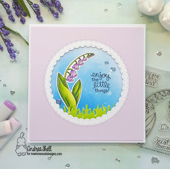 Enjoy the little things by Andrea features Little Lilies by Newton's Nook Designs; #newtonsnook