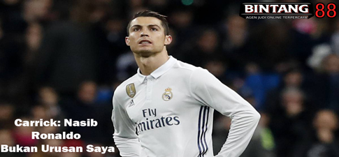 Carrick: Nasib Ronaldo Bukan Urusan Saya