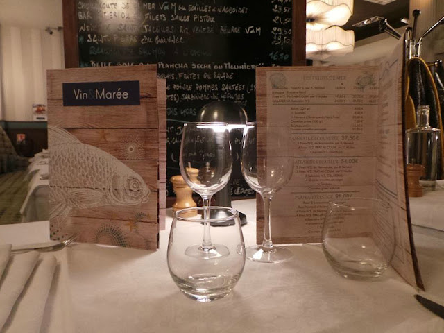 Restaurant Vin et Marée Suffren Ecole Militaire la Quinzaine Gourmande Restopartner poissons et fruits de mer