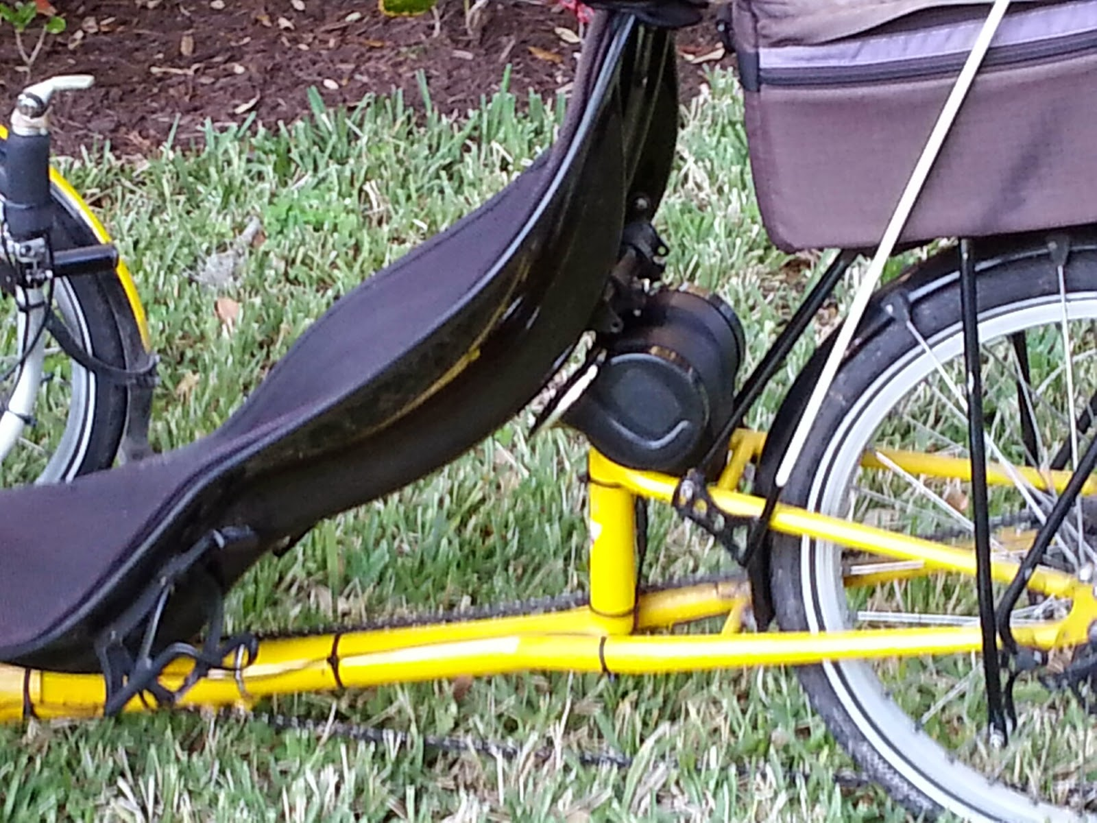 Loud Blog Fit On A Recumbent Trike