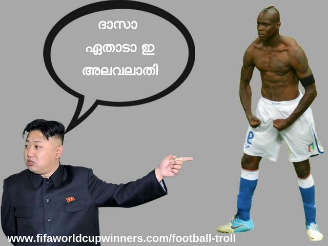Mario Balotelli  troll Malayalam-football troll