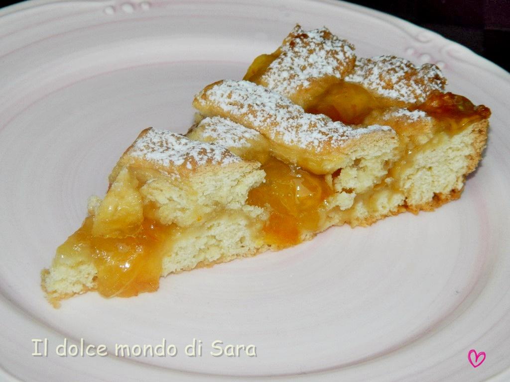 Amato ღ Il dolce mondo di Sara ღ: Crostata di pasta frolla allo yogurt SQ52