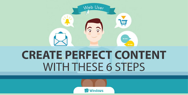 Create Perfect Content with These 6 Steps