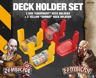 Zombicide Black Plague - Deck Holder