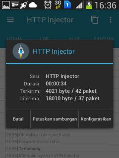 Interet gratis http injector,vpn, config terbaru 2016