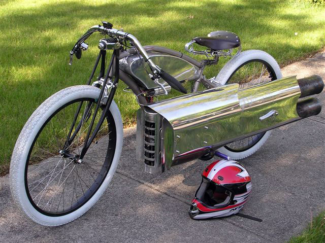 Bicicleta a 120km/hora