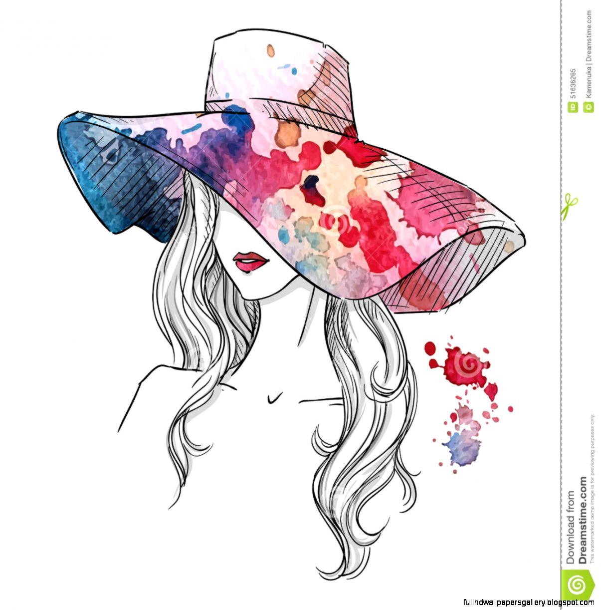 Free Fashion Design Sketches For Girls Full Hd Wallpapers