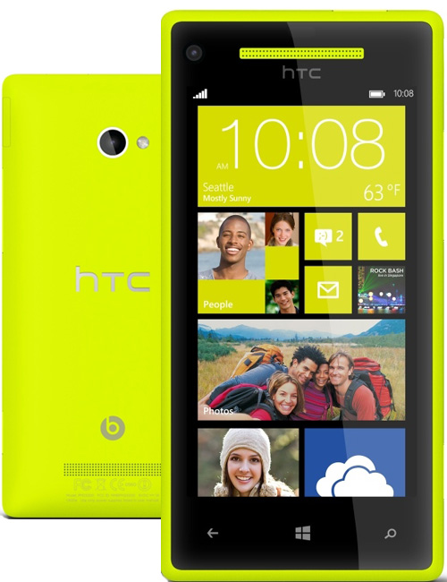 HTC Windows Phone 8X Pictures