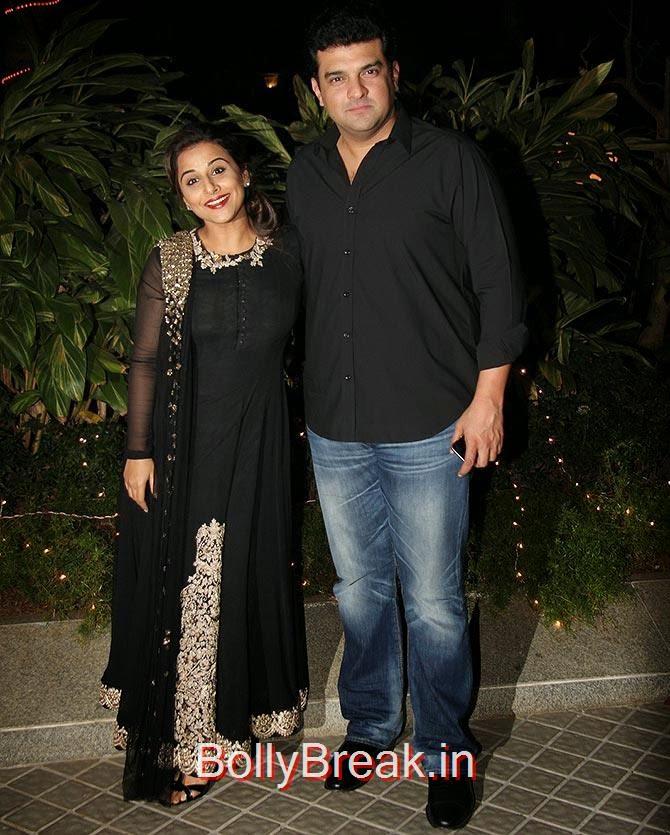 Vidya Balan and Siddharth Roy Kapur, Bollywood Celebrities At Farah Khan's GRAND 50th Birthday Party