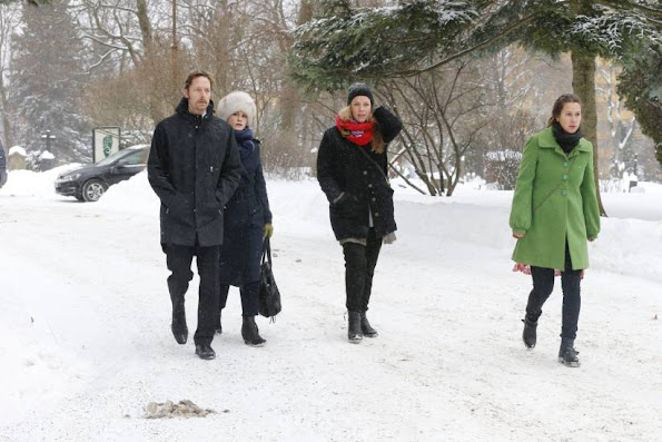 Crown Princess Mette-Marit, Princess Martha Louse, Queen Sonja of Norway
