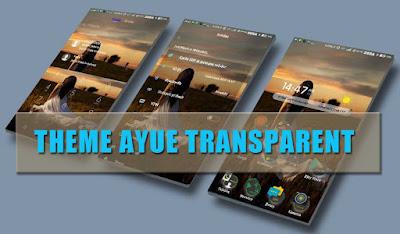 download Theme MIUI Ayue Transparent Mtz Update For Xiaomi
