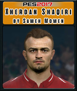 PES 2017 Faces Xherdan Shaqiri by Sameh Momen