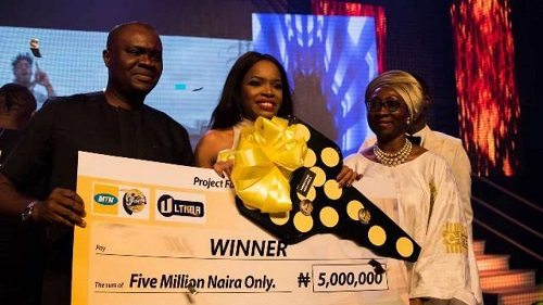Okiemute Wins Season 9 of MTN Project Fame
