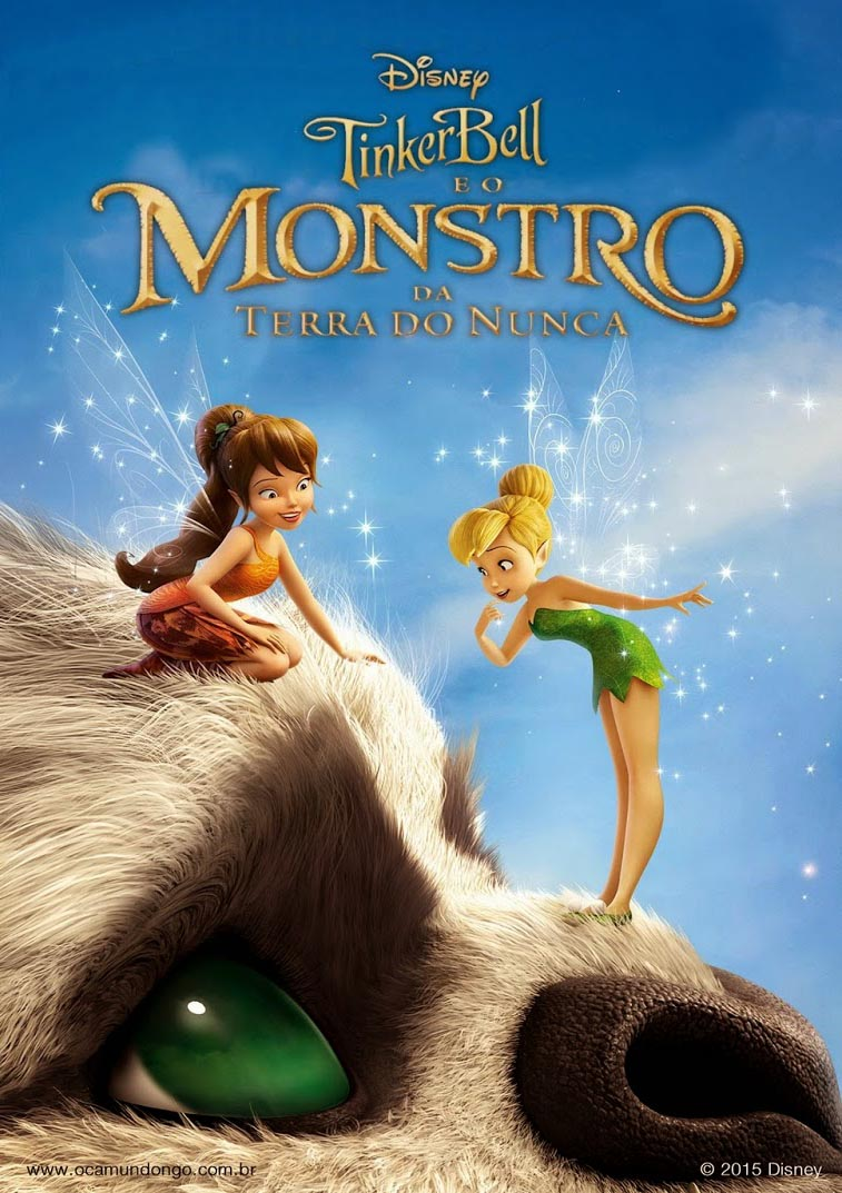 Tinker Bell e o Monstro da Terra do Nunca Torrent - Blu-ray Rip 1080p Dublado (2015)