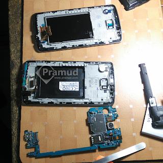servis, repair, memperbaiki layar lcd touchscreen lg g3 - pramud blog