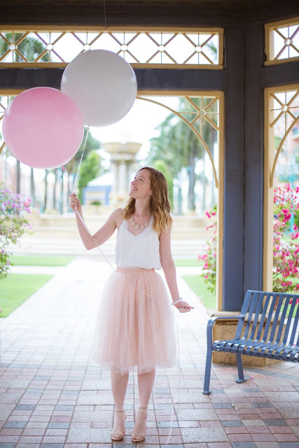 Pink Tulle Skirt styled by The Celebration Stylist