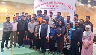 Air Force Shooters won both CoC Titles at Indian Revenue Open Shooting Championship – 2017