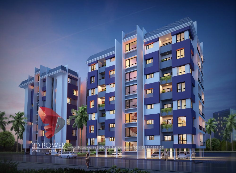 Township Apartments Design | 3D Rendering