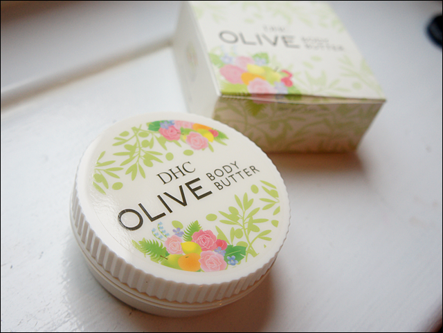 DHC Olive Body Butter Butter Review