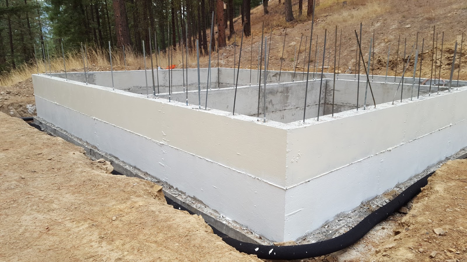 Small Forest Timber Owner Blog For Wa Concrete Slab On Top Of Foundation Stem Wall
