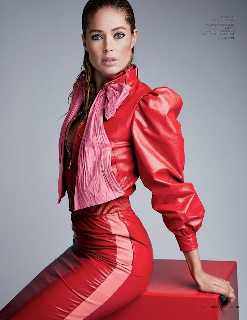 Doutzen Kroes in Gucci by Patrick Demarchelier
