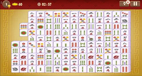 mahjong connect classic   r u00e9flexion en ligne