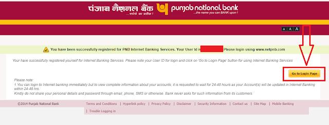 PNB netbanking online registration kaise kare
