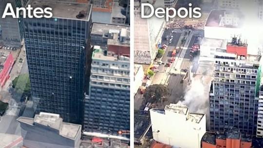 402da574b Jornalista Polibio Braga  Edifício de 24 andares que desabou em São ...