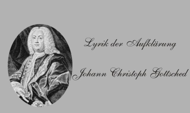 J.C.Gottsched Biografisches