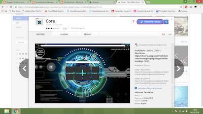 menambahkan tema background ke google chrome