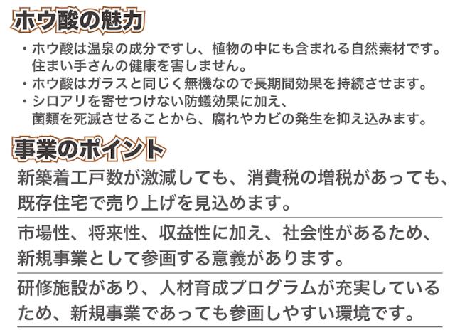 日本ボレイト事業説明会