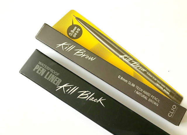 Clio Kill Brow & Waterproof Pen Liner Kill Black