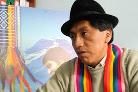 Ecuador. Humberto Cholango reitera a CONAIE que aceptó cargo de Secretario del Agua a título personal