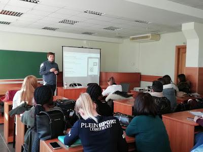 """Лекція «Мобільний маркетинг: розвиток галузі і її специфіка» від """"Tapmedia"""""""