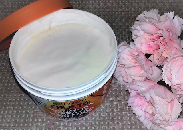 Garnier fructis papaya hair food maska regenerująca do włosów zniszczonych