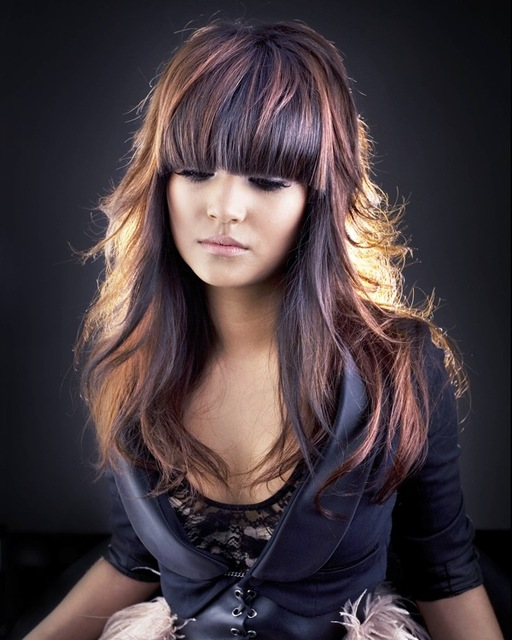 New hair color trends 2013
