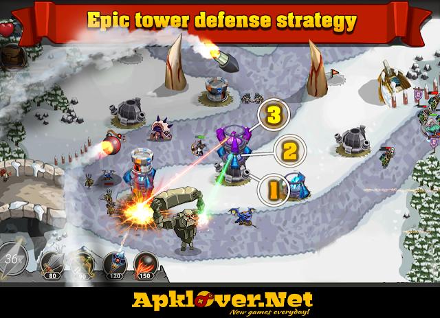 King of Defense: The Last Defender MOD APK unlimited money