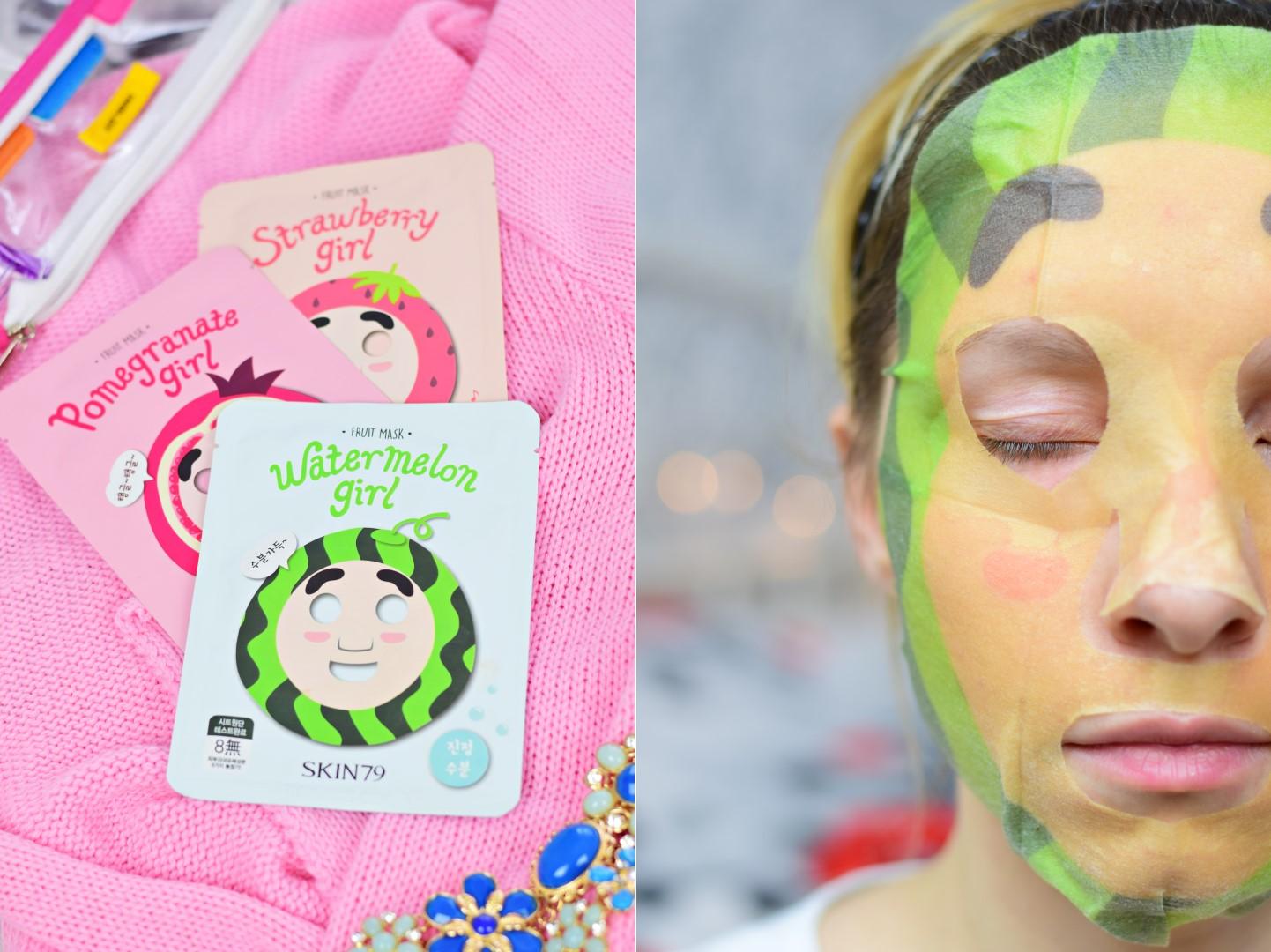 skin79_maska_w_płacie_arbuz_arbuzowa_fruity_mask_watermelon_girl_blog_opinia_recenzja_test