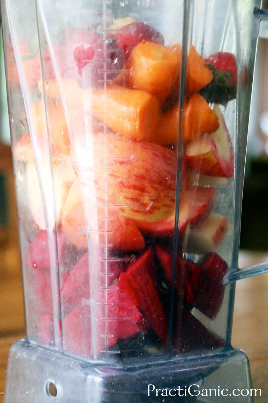 Beet, Apple and Carrot Juice