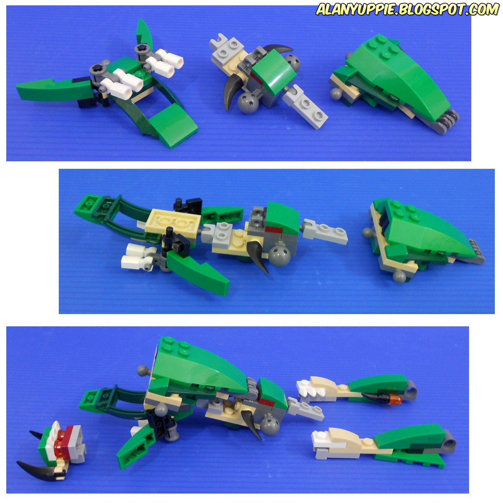 Alanyuppie's LEGO Transformers: Creator 31058 Mighty ...
