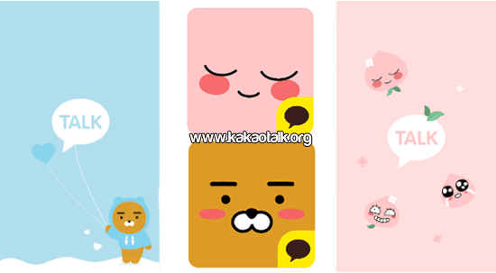 Ryan KakaoTalk Theme Apeach y Ryan