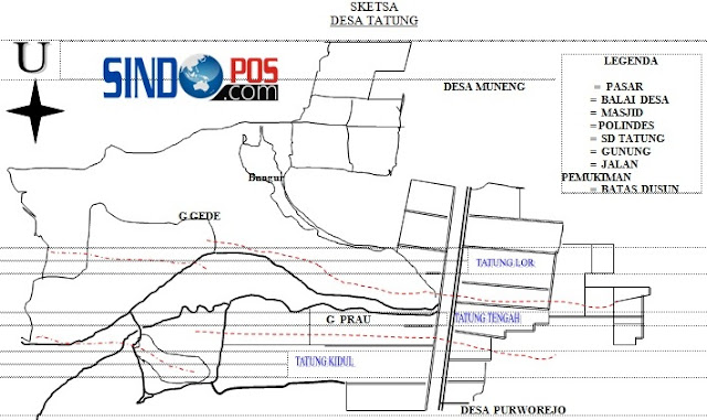 Profil Desa & Kelurahan, Desa Tatung Kecamatan Balong Kabupaten Ponorogo
