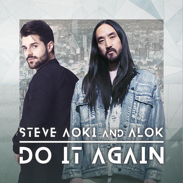 "Alok e Steve Aoki lançam a eletrizante ""Do It Again"""